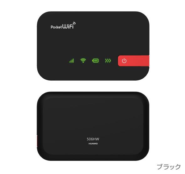 pocket wifi 506hw 解約