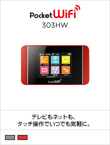Pocket WiFi 303HW