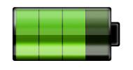 画像:短時間の充電で長く使える