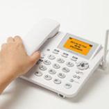 画像:慣れ親しんだ受話器と、大きく使いやすいボタン
