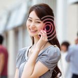 画像:快適性を極めた通話機能